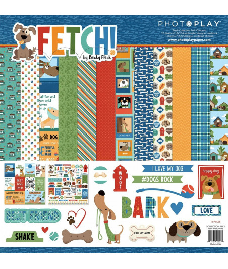 PHOTOPLAY - Fetch 12x12 Collections
