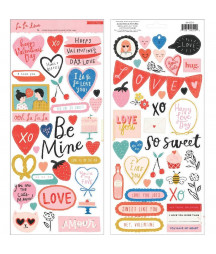 CRATE PAPER - La La Love Stickers