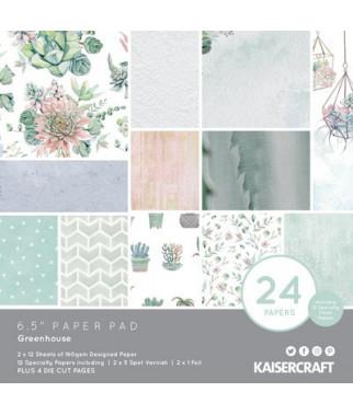KAISERCRAFT - Greenhouse 6x6  Pad Collection Kit