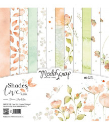 "MODASCRAP - SHADES OF LOVE 12""x12""  Pad Collection Kit"