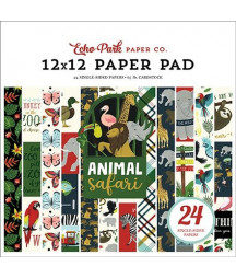 ECHO PARK -  Animal Safari - 12x12  Pad Collection Kit