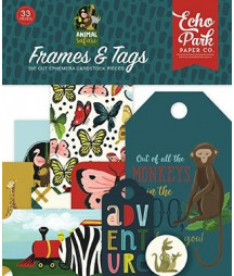 ECHO PARK - Animal Safari - Frames & Tags