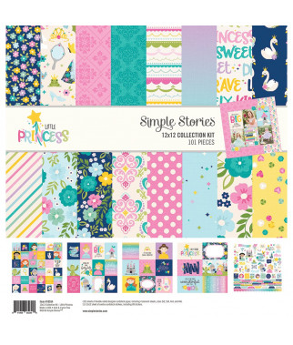 SIMPLE STORIES -  Little Princess Collection Kit