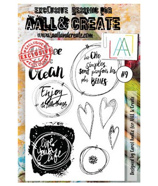 ALL & CREATE WHOLESALE - 9 Stamp A6