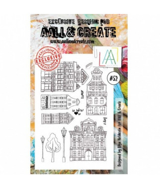 ALL & CREATE WHOLESALE - 52 Stamp border