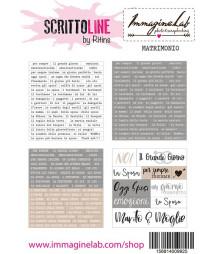 SCRITTOLINE by Ritins - Matrimonio