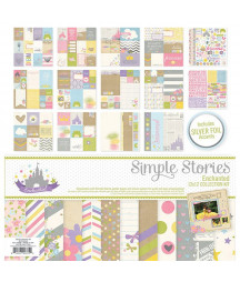SIMPLE STORIES - Enchanted Collection Kit 12x12