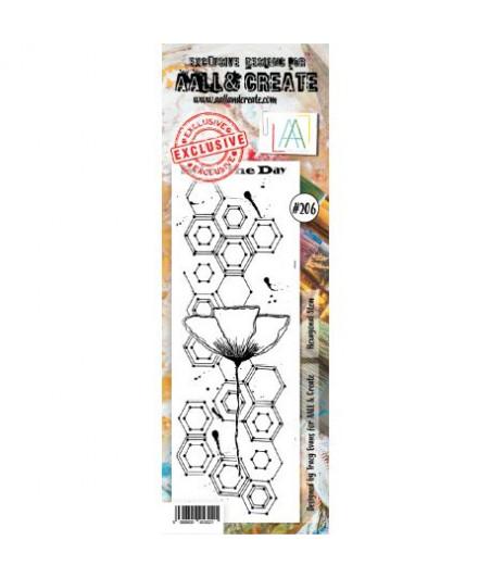 AALL & CREATE - 206 Stamp border