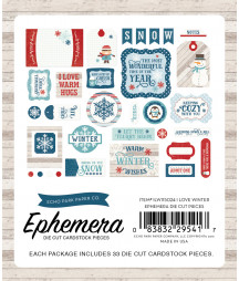 ECHO PARK - I Love Winter - Ephemera