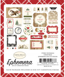 CARTA BELLA - Christmas -  Ephemera