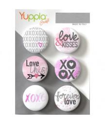 YUPPLA - Buttons - XOXO