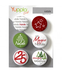 YUPPLA - Buttons - Natale