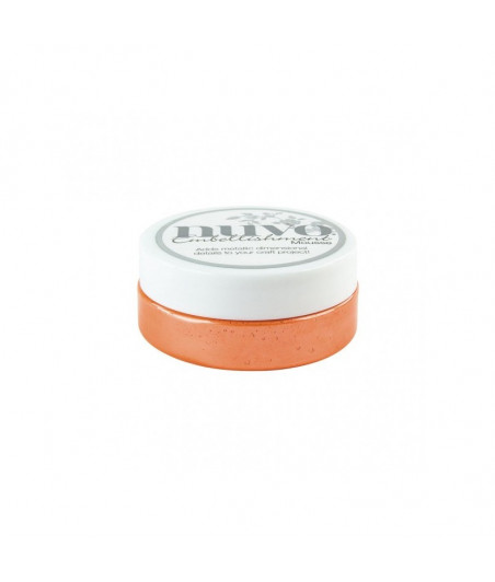 Nuvo Embellishment Mousse Orange Blush