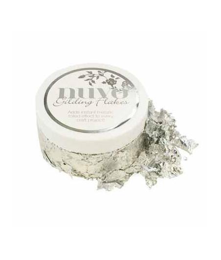 Nuvo Glittering Flakes - Silver Bullion