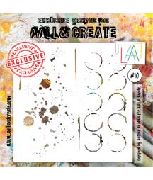 AALL & CREATE - Stencil 10...