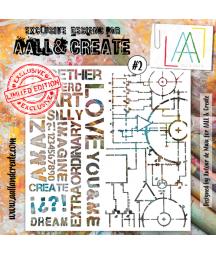 AALL & CREATE - Stencil 2...