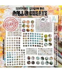 AALL & CREATE - Stencil 21...