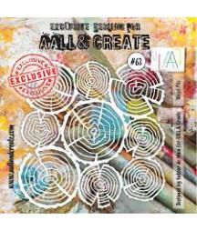 ALL & CREATE - Stencil 63...