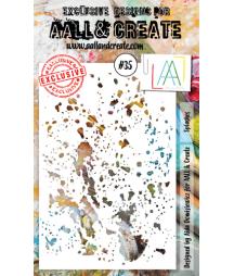 AALL & CREATE - Stencil 35...