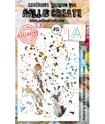 ALL & CREATE - Stencil 35...