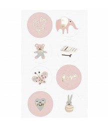 RICO DESIGN - Stickers - Baby Girl