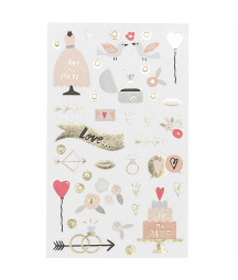 RICO DESIGN - Stickers - Wedding