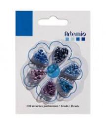 ARTEMIO - Mini brads Blue