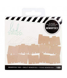 Heidi Swapp 313036 Kit Memory Decks-Kraft (100 Piece)