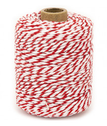 VIVANT - Twine 2 mm x 50 m  - Red / White