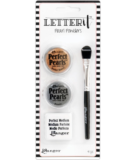RANGER - Letter It Pearls Powder - Set 1