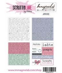 SCRITTOLINE by Ritins - Amore