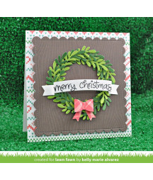 LAWN FAWN - Large wreath