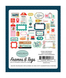 CARTA BELLA - Pack your Bags - Frame & Tags