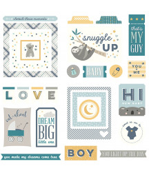 PHOTOPLAY - Snuggle up - Ephemera die cuts