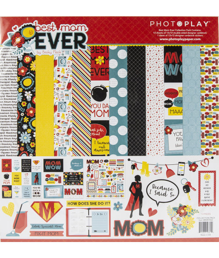 PHOTOPLAY - Best Mom Ever - 12x12 Collections