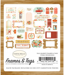 CARTA BELLA - Fall Market -  Frames & Tags