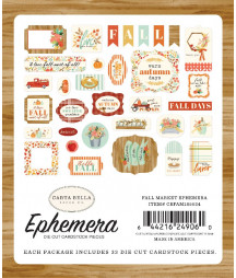 CARTA BELLA - Fall Market -  Ephemera