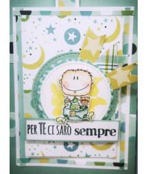 TimbroLINE - Maschietto e femminuccia by Erica Nicomedi