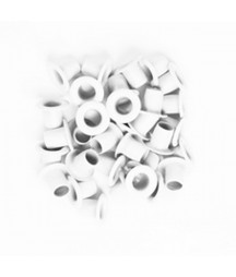 KESI'ART - Big Eyelets - White