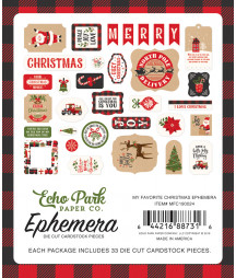 ECHO PARK - My Favorite Christmas - Ephemera