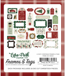 ECHO PARK - A Cozy Christmas - Frames e Tags