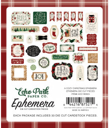 ECHO PARK - A Cozy Christmas - Ephemera