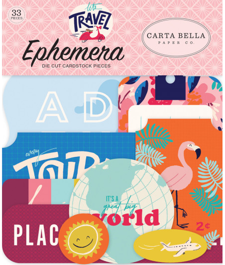 CARTA BELLA - Let's Travel - Ephemera