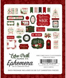 ECHO PARK - Here Comes Santa Claus - Ephemera
