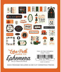 ECHO PARK - Trick or Treat - Ephemera