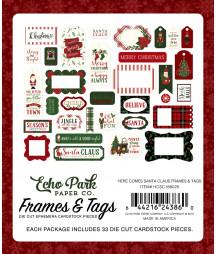 ECHO PARK - Here Comes Santa Claus - Frames e Tags