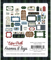 ECHO PARK - Warm and Cozy - Frames e Tags