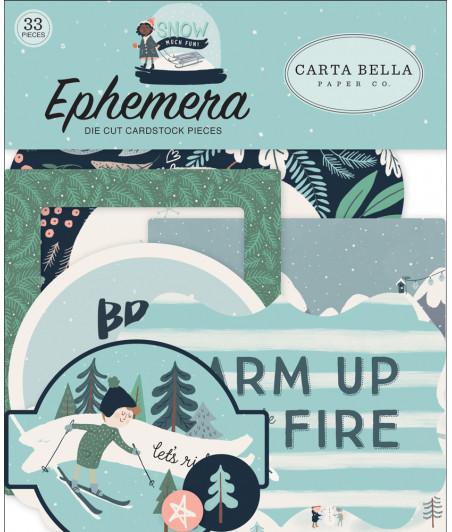 CARTA BELLA - Snow Much Fun - Ephemera