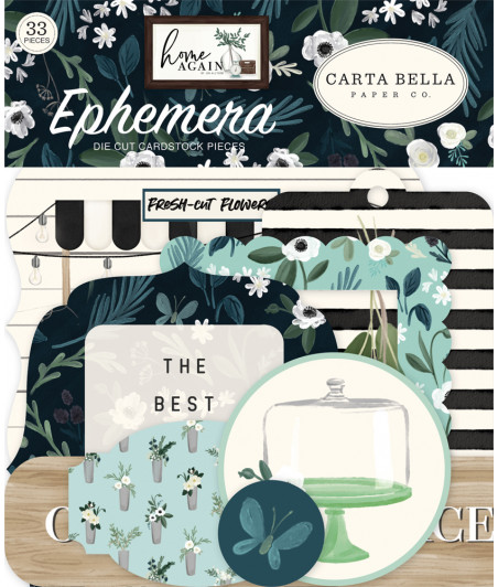 CARTA BELLA - Home Again - Ephemera