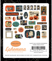 CARTA BELLA - Happy Halloween - Ephemera
